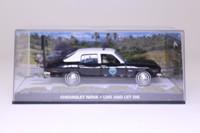 Universal Hobbies 43; James Bond, Chevy Nova Police Car; Live And Let Die