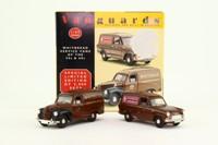Vanguards WV1002; Whitbread Service Vans Set; Austin A40 & Ford Anglia
