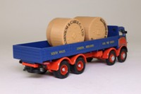 Corgi 10102; ERF V; 8 Wheel Dropside with Cable Drums; Gwynne Bowen