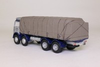 Corgi Classics CC10103; Foden FG; 8 Wheel Flatbed; Silver Roadways, Sheeted Load