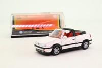Newray 48519; 1988 Volkwagen Golf Cabriolet; Open Top, White, Tan Interior