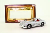 Corgi C811/1; 1954 Mercedes-Benz 300SL Gullwing; Silver Metallic