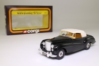 Corgi C815; 1954 Bentley R Type; Closed Cabriolet, Black Cream