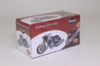 Atlas Editions 4 658 126; 1966 Sanglas 400T Motorcycle; Blue & Black