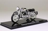 Atlas Editions 4 658 112; 1956 Norton Dominator; Metallic Silver