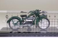 Atlas Editions 4 658 123; 1937 Nimbus Luxus Motorcycle; 'Bumblebee', Green