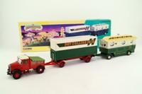 Corgi 16502; Scammell Highwayman; Pole Trailer & Caravan, Pat Collins Fair