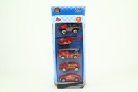 Unbranded 99892; 5 Piece Set; Assorted Fire Vehicles