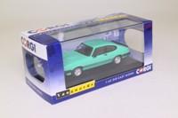 Vanguards VA10815A; Ford Capri Mk III; 3.0S; Peppermint Sea Green, Autocar Roadtest Car, RHD UK