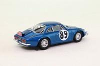Trofeu 817; Alpine Renault A110; 1968 Monte Carlo Rally 7th; Vinatier & Jacob; RN89