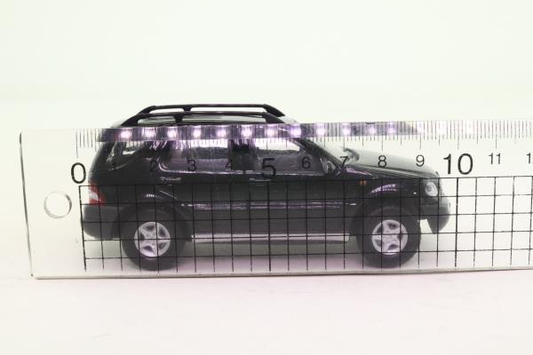 Cararama 25021; Mercedes-Benz ML 320; Black, Opening Doors