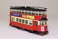 Corgi OOC OM40501; Feltham Tram; London Transport; Rte 21 Holborn, North Finchley, New Southgate, Wood Green, Finsbury Park, Caledonian Rd, Kings Cross