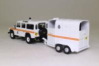 Vanguards VA09710; Land-Rover 110 Defender; & Horsebox, Royal Parks Constabulary