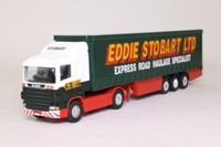 Corgi 59503; Scania R Cab; Artic Curtainside, Eddie Stobart