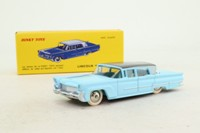 Dinky Toys 532; Lincoln Premiere; Light Blue & Grey