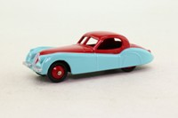 Dinky Toys 157; Jaguar XK120; Cerise Over Sky Blue, Cerise Painted Hubs
