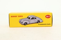 Dinky Toys 39f; Studebaker Coupe; Light Grey