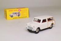 Dinky Toys 197; Morris Mini Traveller; Cream, Red Seats