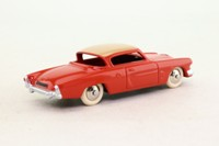 Dinky Toys 24Y; Studebaker Commander; Orange & Cream