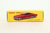 Dinky Toys 24Y; Studebaker Commander; Orange & Cream