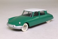 Dinky Toys 24CP; Citroen DS19: French Dinky; Green, White Roof