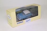 Corgi 96766; Morris Minor; Closed Convertible, Teal Blue