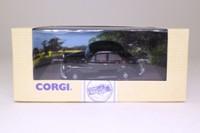Corgi 96745; Morris Minor Saloon; Black, Red Stripe