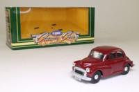 Corgi D702/5; Morris Minor Saloon; Maroon