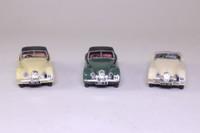 Corgi 97705; Jaguar XK120 1953 RAC Rally 3 Pce Set; RN166 1st, RN64 8th, RN65 14th