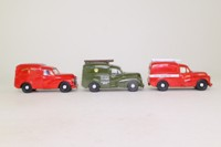 Corgi 97541; Morris Minor Van; 3 Van Set, 1972 Postal Engineering Van, 1970 Royal Mail Van, 1963 Post Office Telephones Van