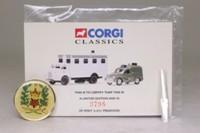 Corgi Classics 08004; Hampshire Police 2 Pce Set; Bedford S Control Unit & Morris 1000 Van