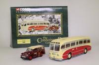 Corgi 36501; Barton Coaches Set; Burlingham Seagull & Morris Minor Traveller