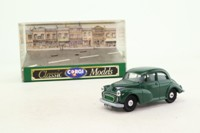 Corgi D702/6; Morris Minor Saloon; Almond Green