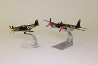 Corgi AA99151; Suez Crisis 2 Plane Set; DH Mosquito & P-51D Mustang, Israeli Air Force, October 1956