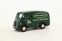 Corgi Code 3; Morris J Van; Racing Green, Vintage Machinery