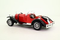 Burago 1509; 1928 Mercedes-Benz SSK Roadster; Red & Black