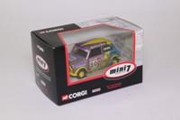 Corgi CC82255; BL/Rover Mini; Mini 7 Racing Club, Genny Cooke; RN20