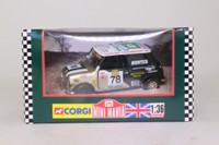 Corgi Classics 04436; BL/Rover Mini; Mighty Minis: Chris Hunter; RN78