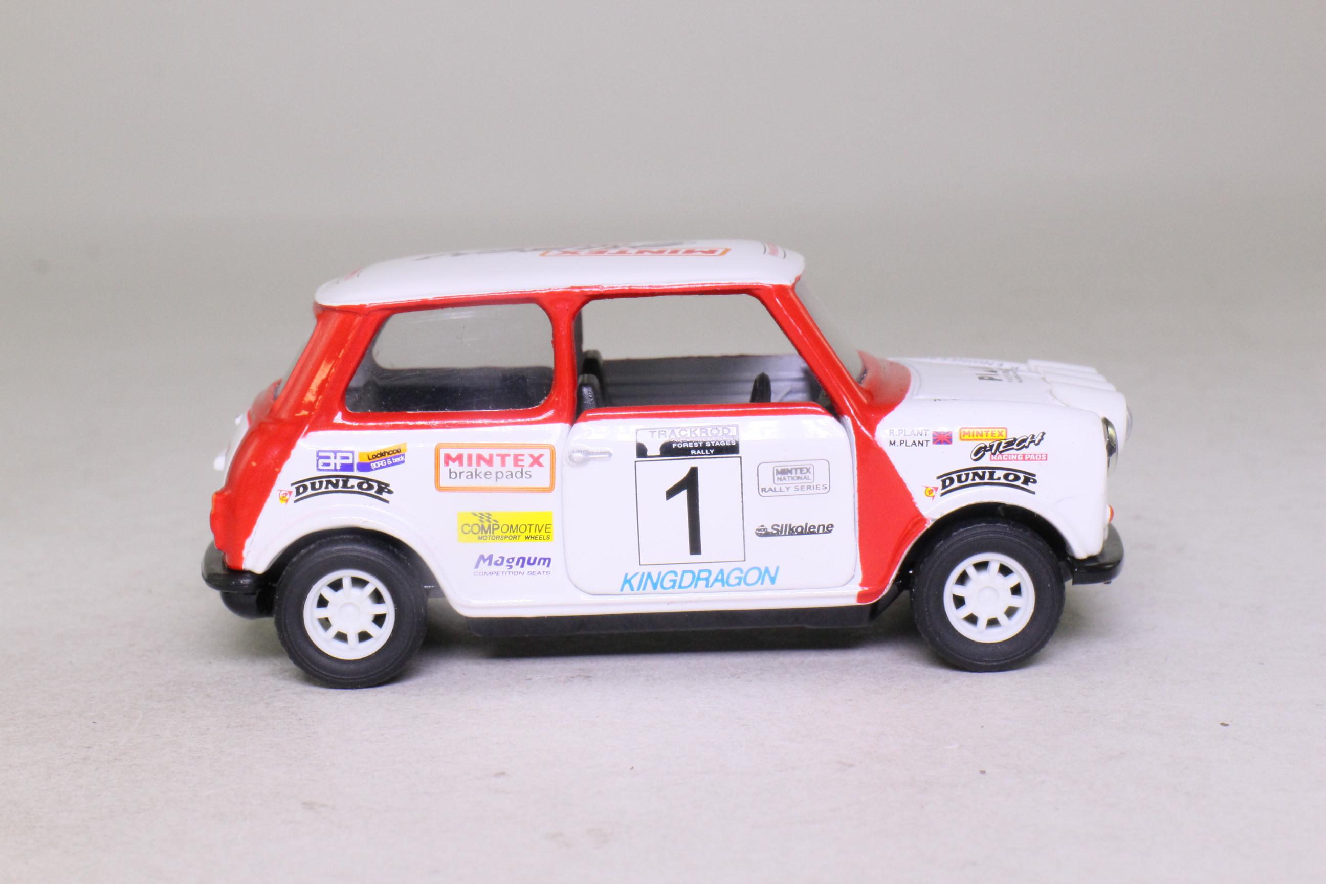 Corgi Classics 04426; BL/Rover Mini; 1998/9 Mintex National Rally