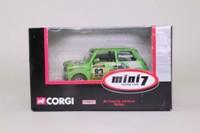 Corgi CC82251; BL/Rover Mini; Mini Miglia; Colin Peacock; RN83