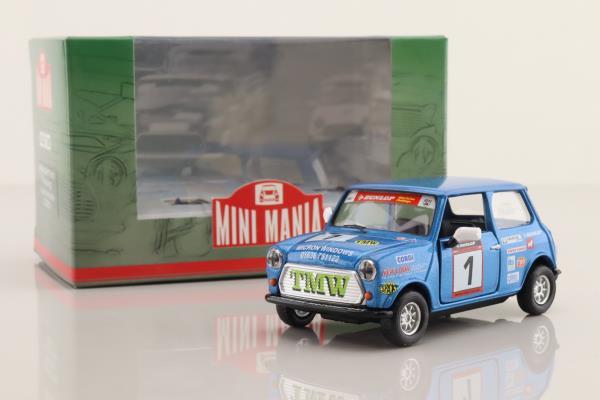 Corgi CC82270; BL/Rover Mini; Mini Mania; Kane Astin; RN1