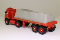 Corgi 28001; Atkinson; Articulated Flatbed Trailer, Sutton's of St Helens, Sheeted Load