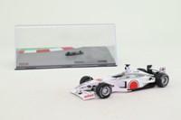 Panini #85; BAR 002 Formula 1; 2000 Australian GP 4th; Jacques Villeneuve; RN22