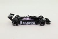 Panini #75; Shadow DN9 Formula 1; 1979 USA GP 4th; Elio De Angelis; RN18
