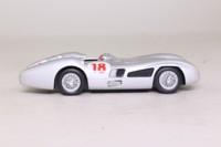 Panini #21; Mercedes-Benz W196 Formula 1; 1955 Italian GP 1st; Juan Manuel Fangio; RN18