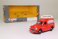 Corgi C957/6; Morris Minor Van; Foyles for Books
