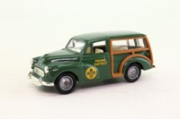 Days Gone Lledo Code 3; Morris Minor Traveller; Frome District Scout Council