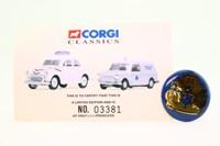 Corgi 08005; Morris Minor Saloon; Stockport Borough Police Courtesy Patrol