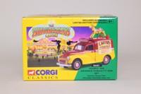 Corgi 06601; Morris Minor Van; Carters Steam Fair Advance Publicity Van