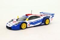 Minichamps 530 194301; McLaren F1 GTR; 1999 British GT Silverstone DNF; O'Rourke & Sugden; RN1